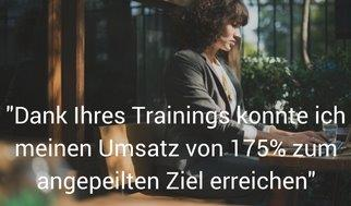 Dank Ihrers Trainings